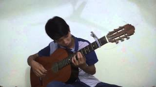 Over and Over - Guitar solo by Nguyễn Đức Quản