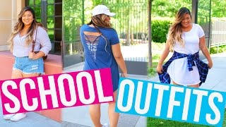 BACK TO SCHOOL OUTFIT IDEAS!! 2016
