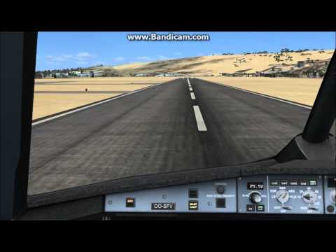 Brussels Airlines A330-300 into Conakry (GUCY) RWY 06 (FSX)