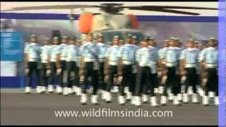 Marching men of The Indian Air Force
