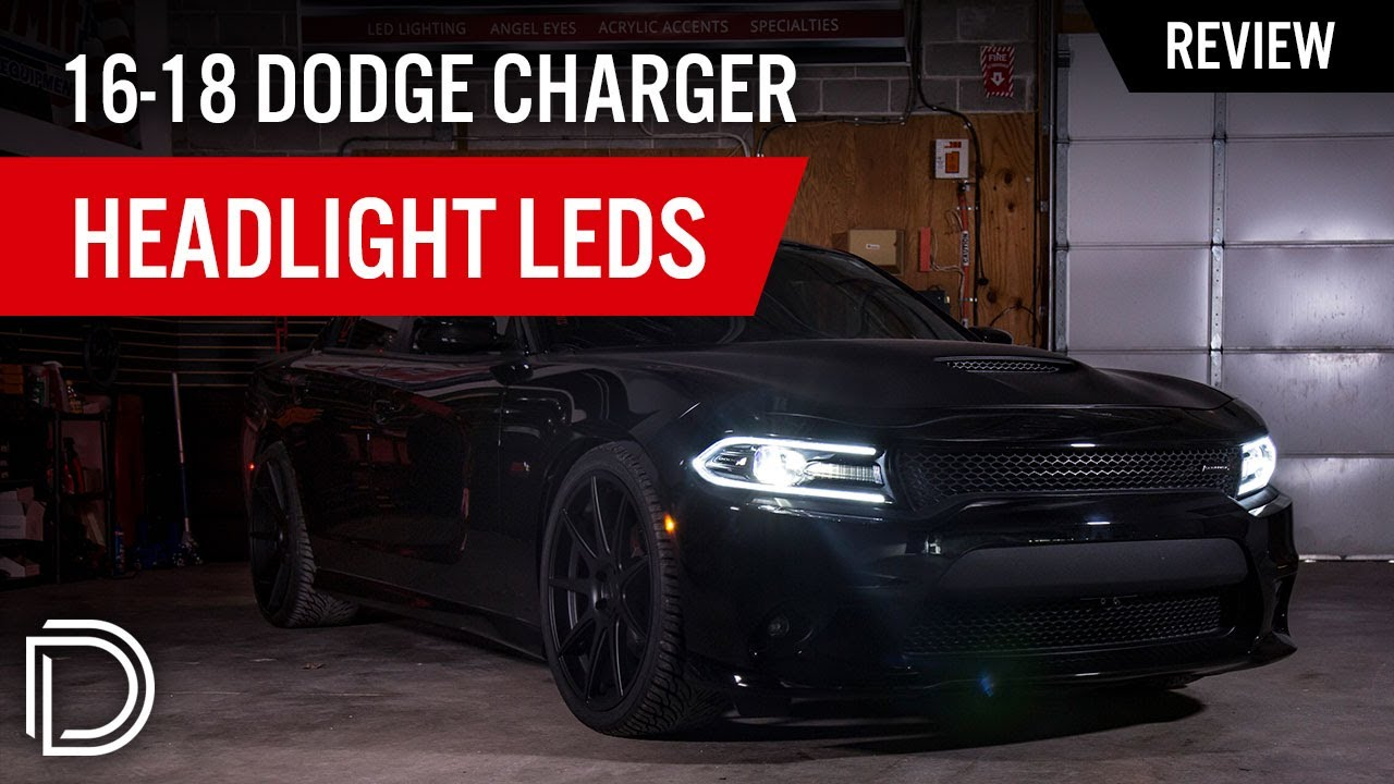 Sl1 Headlight Leds For 2016 2018 Dodge Charger Diode Dynamics