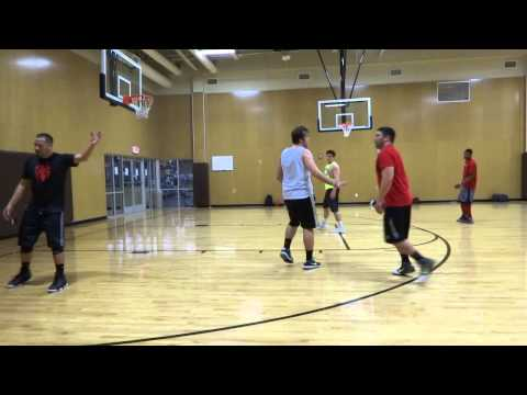 Golds Gym Mens Pick Up Game 2 19 14