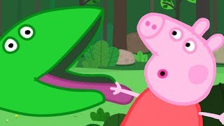 Peppa Pig - Compilation 2 (45 minutes)(1) Grampy Rabbit's Dinosaur Park: 00:00 - 5:10 To celebrate Freddy Fox's birthday, the children go on a trip to a Dinosaur Park. With Grampy Rabbit as their ..., 2015-03-27T19:30:01.000Z)