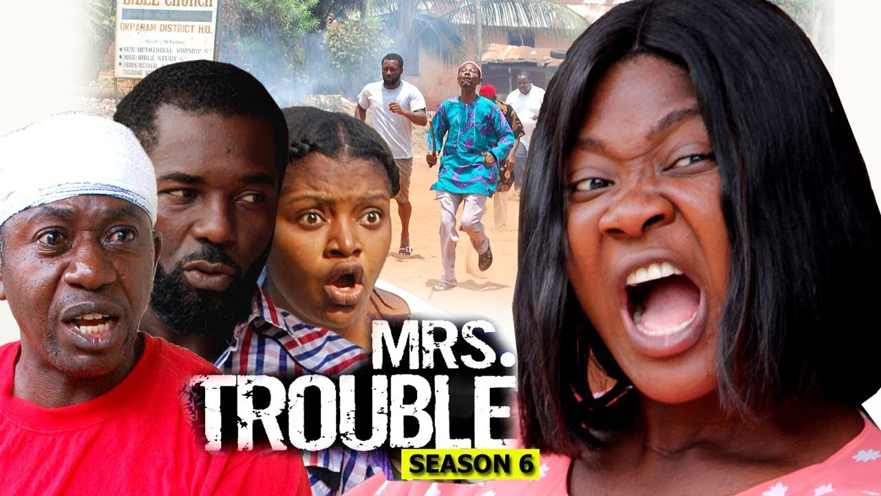 Download Mrs Trouble Season 6 Finale - Mercy Johnson 2018 Latest Nigerian Nollywood Movie full HD