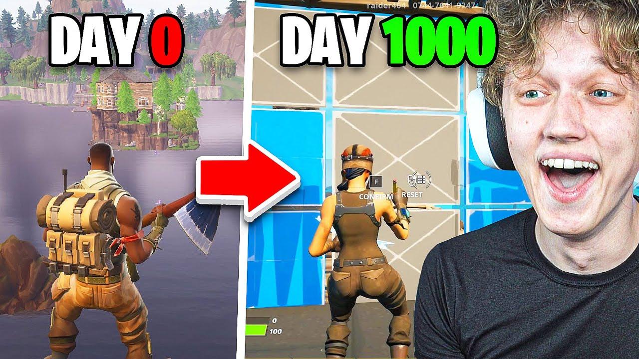 I Survived 1,000 Days of Fortnite...