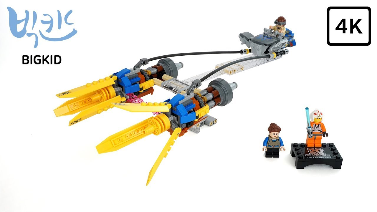 75258 Lego Star Wars 20th Anniversary Anakin/'s Podracer Building Set