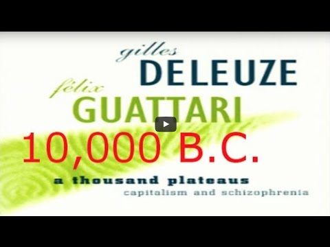 3 of 3 - A Thousand Plateaus by Gilles Deleuze & Félix Guattari - Illustrated Audiobook