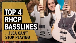 Top 4 Red Hot Chili Peppers Basslines | Flea | Thomann