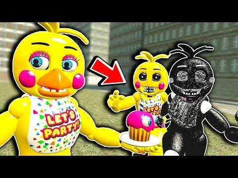 NEW FNAF 2 CHICA REBRANDED PILL PACK! - Garry's Mod Gameplay - Five Nights at Freddy's Gmod