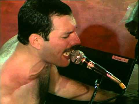 Queen -  at Wembley 19860712 PRE-overdubbing part 1