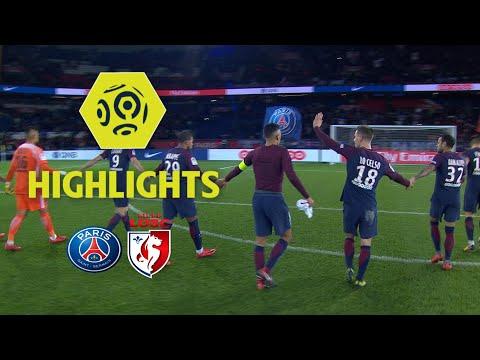 Paris saint-germain - losc (3-1) - highlights - (paris - losc) / 2017-18