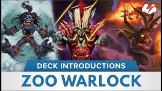 Zoo Warlock | Hearthstone Deck Introduction | [Witchwood]