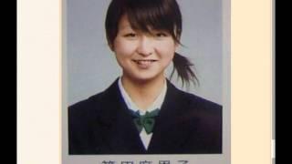篠田麻里子18の時の高校卒業写真アルバム.