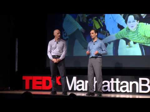 Math dance: Erik Stern and Karl Schaffer at TEDxManhattanBeach