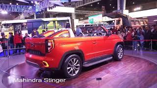 Mahindra Stinger @ Auto Expo 2018 Walkaround   RevvReview