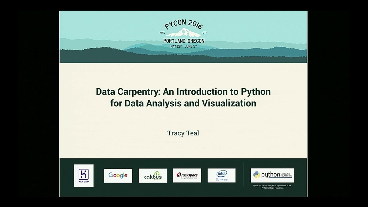 Image from Data Carpentry: An Introduction to Python for Data Analysis and Visualization