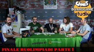 Lucca Comics & Games] Boardgame Studio: Finali Ruolimpiadi 2017 Parte 1