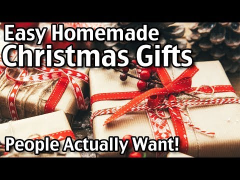 5 Homemade Christmas Gifts People Actually Want! Easy DIY Gifts For Christmas