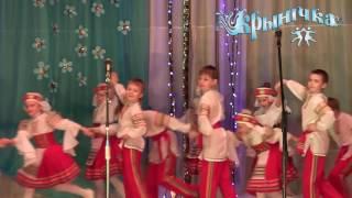 детский образцовый хореографический коллектив 'Крынiчка' - Белорусский народный танец 'Стрыкач'