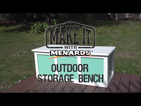 Outdoor Storage Bench - Make I...