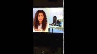 Zendaya behind the scenes of her CHI promo shoot - ExtraTV 12/6/15