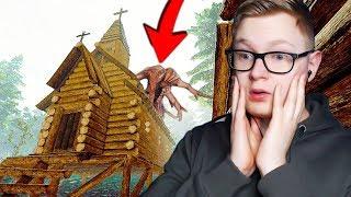 Budowaliśmy kościół i zaatakował nas ON... - The Forest #9 (Flothar & Mattyniu)