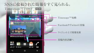 Xperia™ acro HD IS12S 機能紹介ムービー「USABILITY」