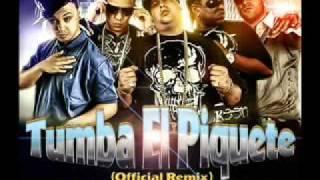 J-alvarez Ft. Voltio, Yaga & Mackie, Jory- Tumba El Piquete        .flv