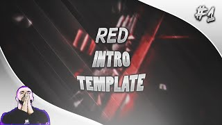 Red Intro Template (720p60fps) | Template #1 | ● MigoArtz ●