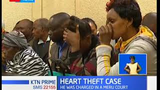 Former government pathologist charged with allegedly stealing a heart