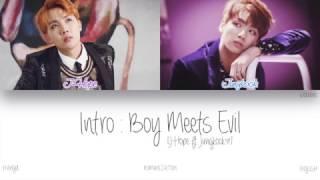 HAN ROM ENG BTS J Hope 제이홉 Intro Boy Meets Evil Color Coded Lyrics