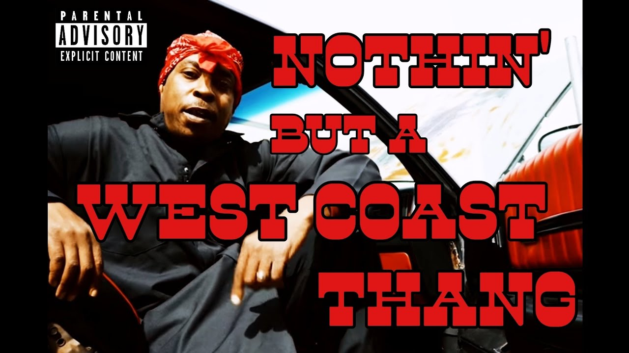 """Download G-Funk 2021 / New West Coast Hip Hop Mix """"Nothin' But A West Coast Thang"""""""