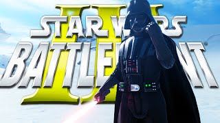 StarWars Battlefront 3 Beta - Playing as Vader, ATAT, ATST, Tie Fighter, Hero Gameplay 1080p HD