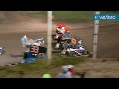 9/21/19 Colorado 270's Mirco sprints A-main at I-76 Speedway