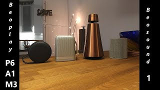 b&O Beoplay P6 Review And Portable Speaker ShootOut, A1 & M3 & Beosound 1