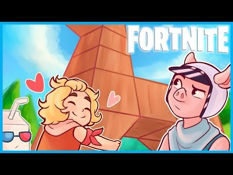 Building LLAMAS EVERYWHERE in Fortnite: Battle Royale! (Fortnite Funny Moments)
