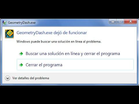Solución!! APPCRASH-libcocos2d.dll [Geometry Dash]
