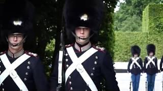 Livgarden på vagt i Sønderjylland