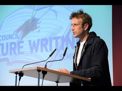 Nature Writing - Robert Macfarlane at BritLitMunich 2018