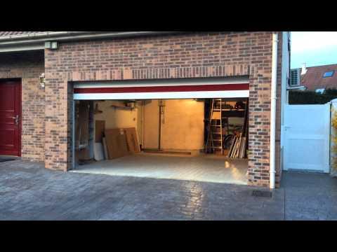 Porte De Garage Ouverture Sectionnelle Selon Zevulon / Sekurbati