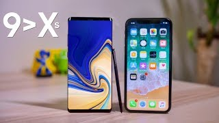Top 5 Reasons the Galaxy Note 9 is Better Than the iPhone XS Max