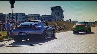 Saison Ausklang Motorworld Böblingen 14.10.18, GT2 RS vs. GT3 RS, Supercars, Sportscars Sound
