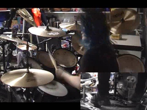 Gematria (The Killing Name) On Drums