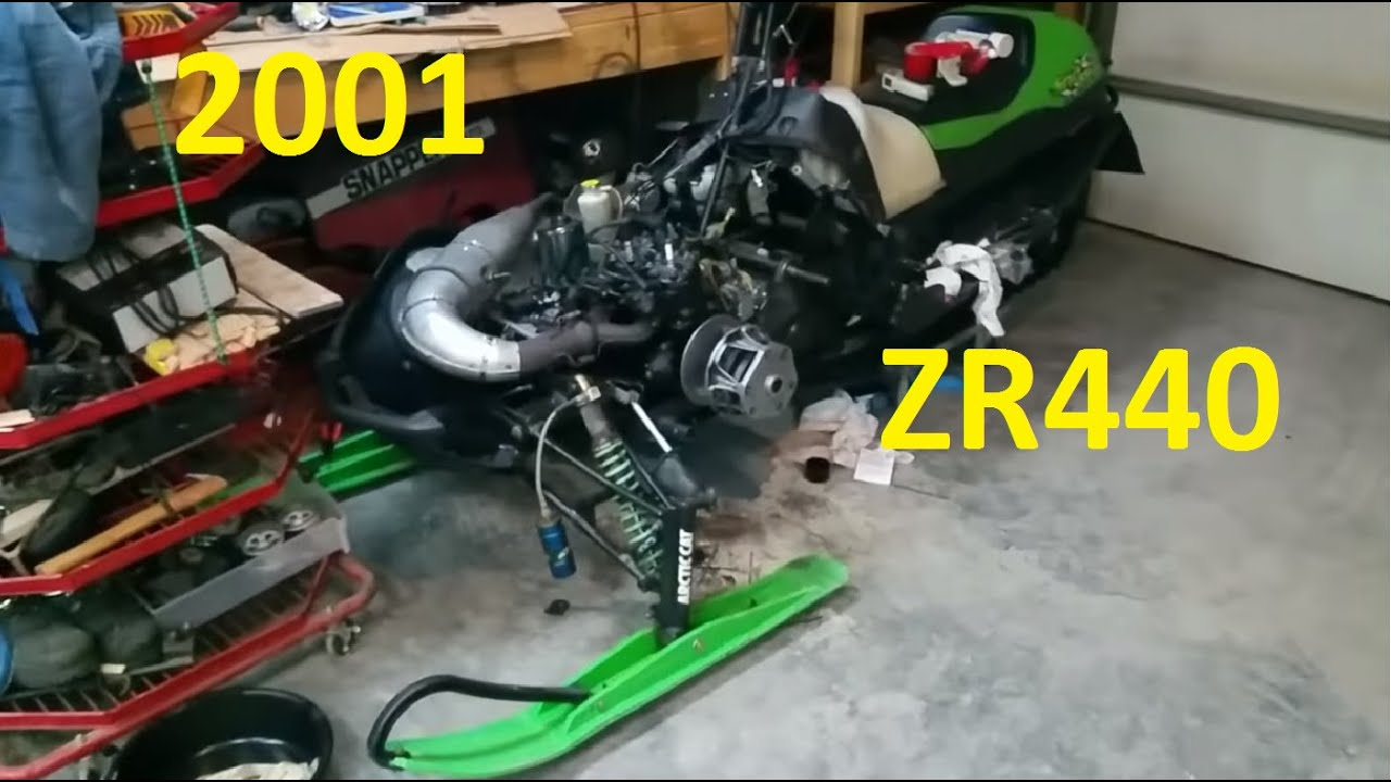 medium resolution of working on the 2001 arctic cat sno pro zr440 fuel system