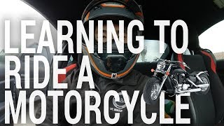 VLOG #59: Learning to Ride a Motorcycle