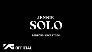 JENNIE SOLO PERFORMANCE VIDEO