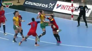 Romania VS Brazil HandBall Women