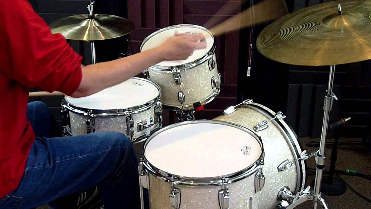 Ludwig Classic Maple Quot Jazzette Quot Bop Kit 18 12 14 14 Youtube