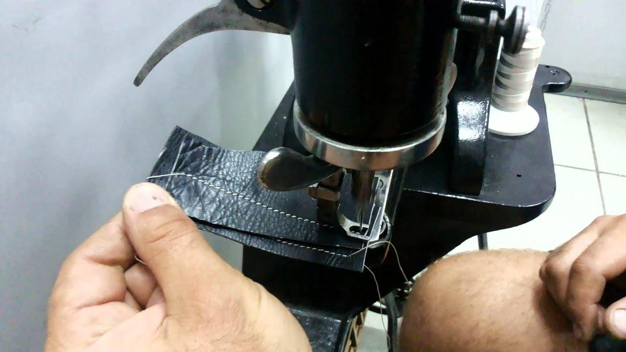 Электропривод к обувной швейной машинке Версаль - YouTube