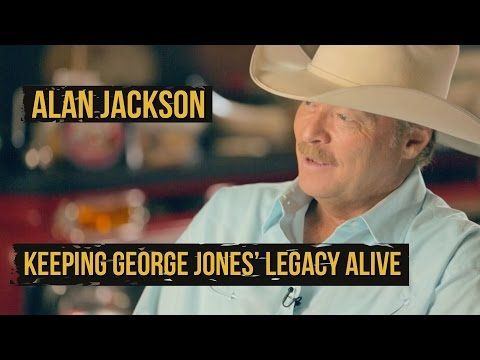 Alan Jackson 'Keepin' It Country' for George Jones